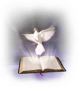 holy spirit word dove